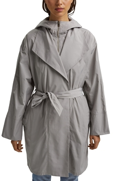 Picture of Lightweight coat with a hood STRAIGHT FIT