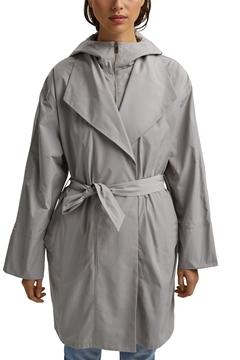 Снимка на Дамско леко палто с качулка STRAIGHT FIT
