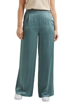 Picture of Satin palazzo trousers with an elasticated waistband