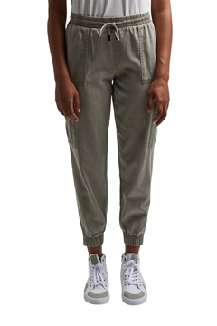 Picture of SUSTAINABLE In a TENCEL™ blend: Tracksuit bottoms in a utility style