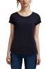 Снимка на SUSTAINABLE Дамска тениска с кръгло деколте от органичен памук