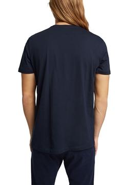 Снимка на SUSTAINABLE Мъжка тениска с кръгло деколте от органичен памук SLIM FIT