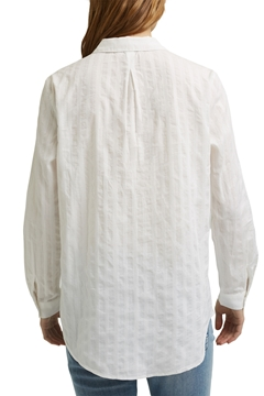 Picture of SUSTAINABLE Turn-up sleeve blouse made of 100% organic cotton