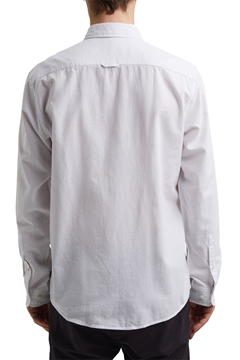 Picture of SUSTAINABLE Linen/organic cotton: button-down shirt REGULAR fit