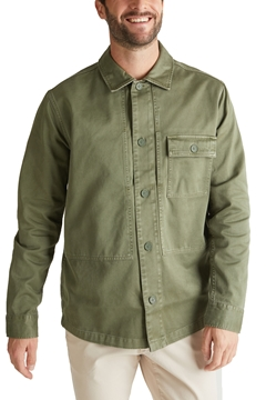 Picture of SUSTAINABLE Overshirt made of 100% organic cotton RELAXED fit