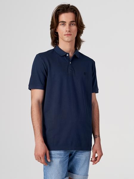 Снимка на SUSTAINABLE Мъжка поло тениска с къс ръкав от органичен памук