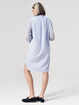 Picture of SUSTAINABLE Shirt dress Made of organic cotton