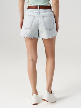 Picture of SUSTAINABLE Denim shorts made of blended cotton