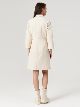 Picture of SUSTAINABLE Shirt dress Made of blended organic cotton