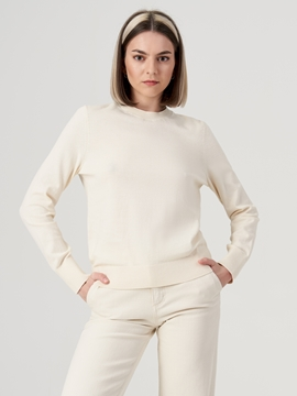Picture of SUSTAINABLE Fine knit jumper Made of organic cotton
