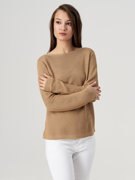 Picture of Knit jumper made from pure linen