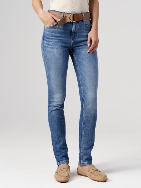 Снимка на SUSTAINABLE Дамски дънки SKARA skinny с висока талия