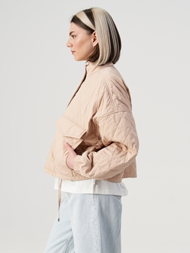 Picture of Quilted jacket made of blended cotton