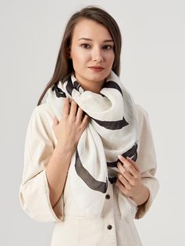Снимка на Дамски шал от лен и вискоза