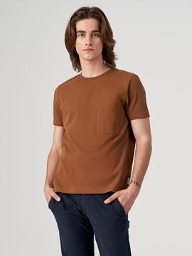 Снимка на SUSTAINABLE Мъжка тениска от органичен памук Relaxed fit