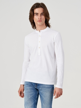 Picture of SUSTAINABLE Long sleeve top made from organic cotton Regular fit