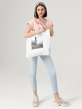 Picture of Shopper made of robust canvas fabric