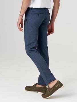 Снимка на Мъжки ленен чино панталон STIG JOGGER