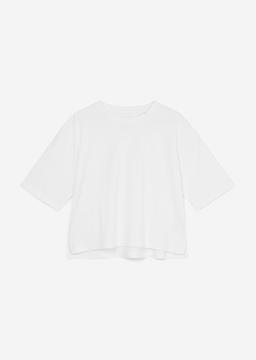 Снимка на Дамска тениска от органичен памук Relaxed