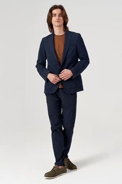 Picture of Tailored jacket made of a cotton/linen/lyocell blend