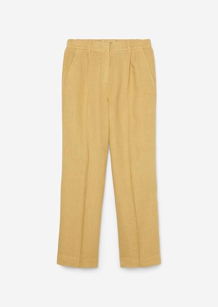 Снимка на Дамски ленен панталон