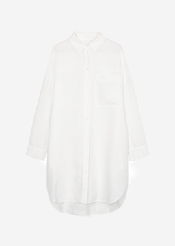Picture of Shirt dress Made from pure linen