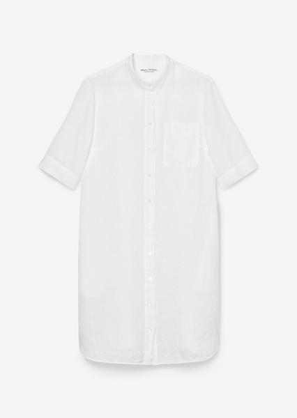 Снимка на Ленена рокля в стил риза
