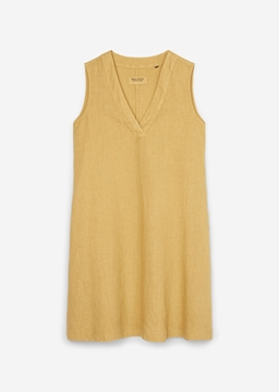 Picture of Sleeveless dress Made from pure linen