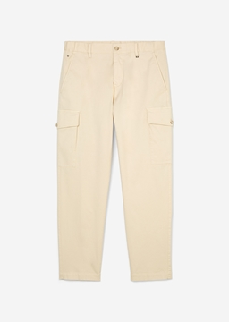 Picture of Cargo trousers Made of a summery cotton and linen blend