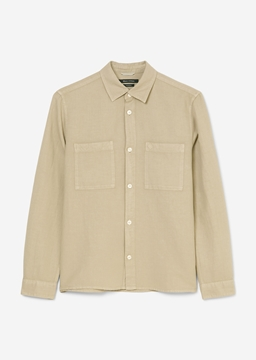 Picture of Overshirt made from a cotton/linen/lyocell blend