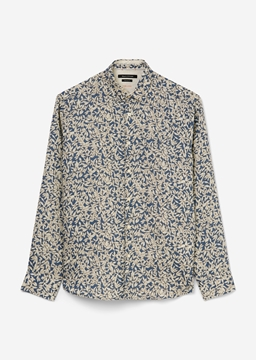 Picture of Long-sleeved shirt with a masculine all-over print