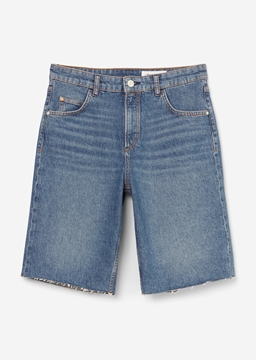 Picture of SUSTAINABLE Denim Bermudas made of blended cotton