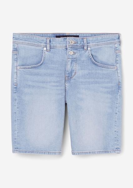 Снимка на Дамски къси панталони THEDA boyfriend със средна талия