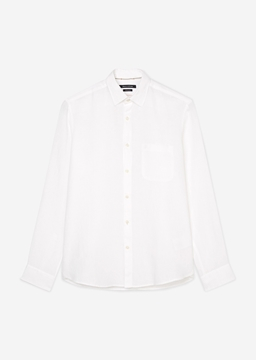 Picture of Regular long sleeve shirt Made of pure linen