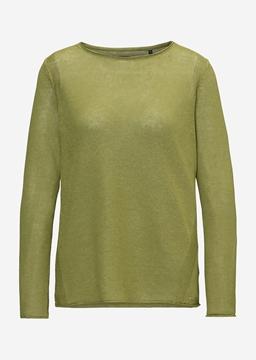 Снимка на Дамски ленен пуловер Regular