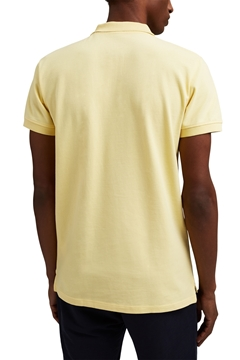 Picture of Piqué polo shirt in 100% organic cotton SLIM FIT