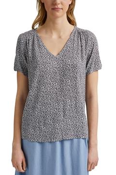 Снимка на SUSTAINABLE Дамска блуза от вискоза LENZING™ ECOVERO™ Straight fit