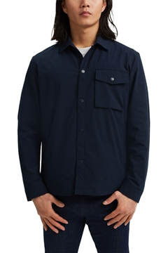 Picture of SUSTAINABLE On the move: breathable overshirt STRAIGHT FIT