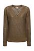 Снимка на SUSTAINABLE Дамски лек пуловер от лен и органичен памук Straight