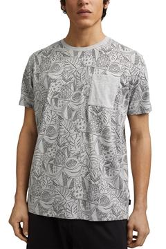 Снимка на SUSTAINABLE Мъжка тениска с органичен памук REGULAR FIT