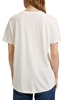 Снимка на SUSTAINABLE Дамска тениска от ограничен памук и модал Loose fit
