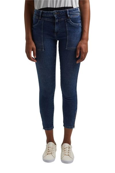 Снимка на SUSTAINABLE Дамски дънки SKINNY със средна талия
