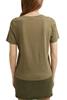 Снимка на SUSTAINABLE Дамска тениска от органичен памук Straight