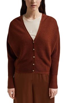Снимка на SUSTAINABLE Дамска плетена жилетка от TENCEL™ лиосел