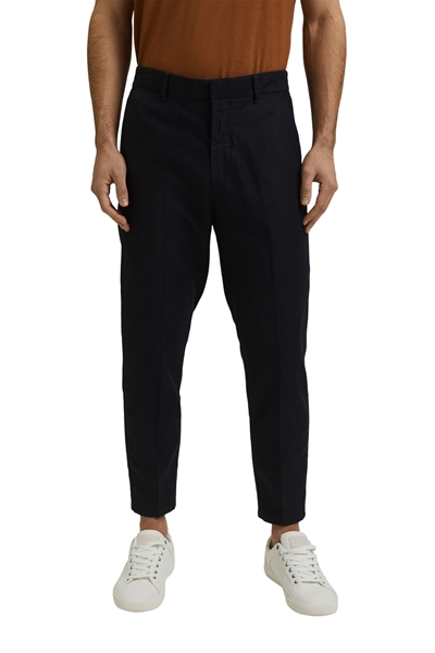 Снимка на SUSTAINABLE Мъжки спортен чино панталон от лен и органичен памук RELAXED