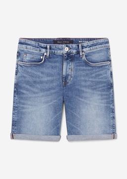 Снимка на Къси дънкови панталони HAMAR regular от органичен памук