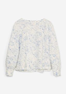 Снимка на SUSTAINABLE Дамска риза с дълъг ръкав от TENCEL™ LYOCELL