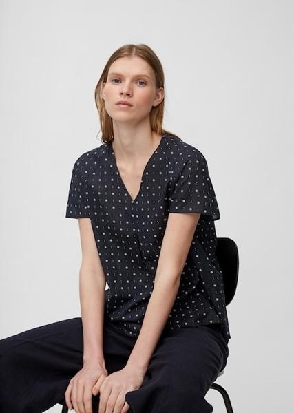 Снимка на SUSTAINABLE Дамска блуза с къс ръкав