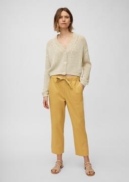 Снимка на Дамски панталон от органичен памук Straight fit
