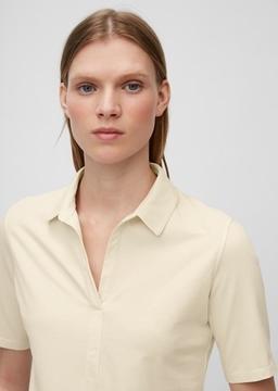 Снимка на Дамска риза с къс ръкав от органичен памук